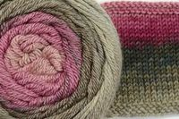 Vintage Evolutions - Finer Yarns Can't wait until it's available again!!! I will not miss it! This colorway reminds me of a lotus flower!