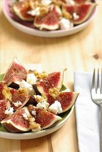 Its fig time here in SW France, and I have been busy making up new fig recipes, as well as making jams, pickles, alcohol steeped figs and chutneys with all our