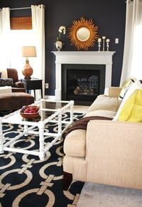 The layers:�€� Rugs, window coverings and paint�€� Lighting (aim for at least three light sources per room)�€� Furniture�€� Soft stuff: cushions, throws and bedding�€� Finishing touches: art, mirrors, books and plants...