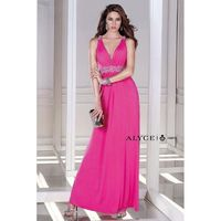 Hot Pink B'Dazzle by Alyce Paris 35717 B'Dazzle by Alyce Paris - Rich Your Wedding Day