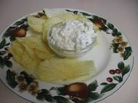 Life Less Hurried Living in the slow lane: Green onion cottage cheese dip
