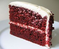 Red Velvet Cake and Red Velvet Cupcakes are my, hands down, absolute favorite desserts. I ADORE them. But the typical Red Velvet Cake Recipes are full of fat, c