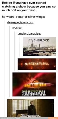 sherlock, doctor who and doctors.