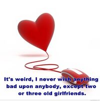 Love dating wallpaper with quote