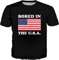 ROTS Bored In The USA T-Shirt $25.00