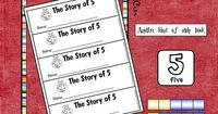 Here's fun strip book where students show all the ways they can make 5.