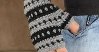 Crochet Pattern - AK Handwarmers (Sizes Toddler to Adult Male) via Etsy.