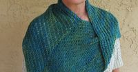 Bearfoot Over the Shoulder Shawl
