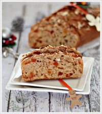 Dried Tomato Cherry, Pineapple and Almond Loaf