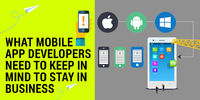 The proliferation of mobile apps has been incredible. There has been a colossal rise smartphone/tablet usage, especially in the workplace. http://goo.gl/cEeSF5