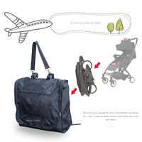Travel Bag Plane Waterproof Carrying Carry Case Stroller Organizer For Babyzen YOYO + Stroller Accessories Prams Wheelchair $26.38