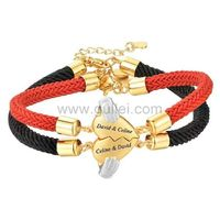 Gullei.com Connecting Hearts Couple Bracelets Valentines Gift https://www.gullei.com/couples-gift-ideas/his-and-her-bracelets.html