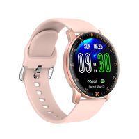 Bakeey S15 Ful Touch Screen Novel UI Heart Rate Blood Pressure Oxygen Monitor Multi-sport Modes Dock Charging Smart Watch