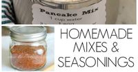 Don't buy mixes and seasonings when you can make them at home. Toss the box and know what is actually going into the foods you make!