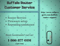 Need IT solution Contact Us Buffalo Router Tech Support