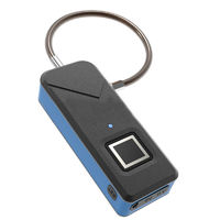 IPRee® 3.7V Smart Anti-theft USB Fingerprint Lock IP65 Waterproof Travel Suitcase Luggage Bag Safety Security Padlock