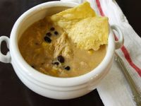 Copycat Chick-Fil-A Chicken Tortilla Soup -- so easy and tastes just like the original!