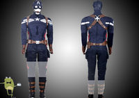 The Winter Soldier Captain America Uniform Cosplay Costume