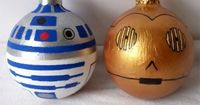 DIY Star Wars for our nerd christmas