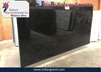Exporter of Black Galaxy Granite Tiles Natura MarmoGranite
