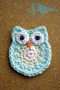 Ravelry: Crochet Owl pattern by Laura Maxell