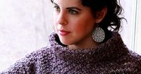 Ravelry: Keria Funnel Neck Pullover pattern by Sarah Wilson