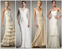 Often I have brides to be asking me for suggestions on where to find beautiful rustic or country wedding gowns. Of course you can search online and head out to