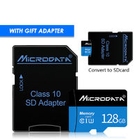 MicroData 8GB 16GB 32GB 64GB 128GB Class 10 High Speed Memory Card With Card Adapter For Mobile Phone Tablet Speaker Camera GPS Car DVR