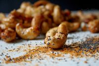 Gluten Free Curried Cashews with Poppyseed