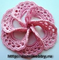 9 flower diagrams, good as irish crochet elements, russian site, but doesnt matter :) 1st with pictorial