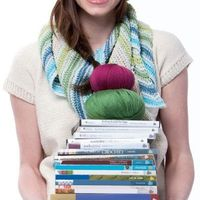 Some of my favorite crocheting books.