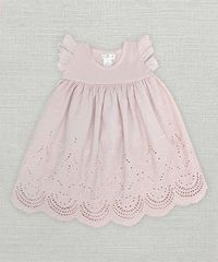 Look at this #zulilyfind! Pale Mauve Eyelet Dress - Infant #zulilyfinds