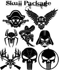 Skulls signs and Symbols Just for: $29.90