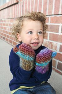 Quickly crochet a fun gift to keep the entire family warm.