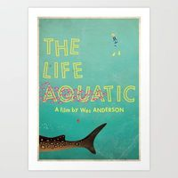 Buy The Life Aquatic by Wharton as a high quality Art Print. Worldwide shipping available at Society6.com. Just one of millions of products available.