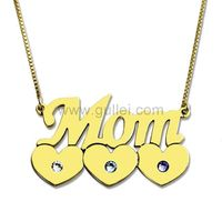 Gullei.com Custom Name Necklace Gift for Mother