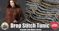 How To Crochet A Tunic - fun beach coverup in the right yarn/color...