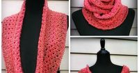 This Amazing Grace Crochet Scarf is yet another beautiful free crochet scarf pattern in a collection designed for breast cancer awareness. This October, work up