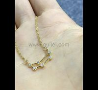Custom Zodiac Constellation Dainty Necklace Birthday Gift for Her https://www.gullei.com/custom-zodiac-constellation-dainty-necklace-birthday-gift-for-her.html