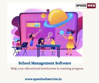 we have our best school management software with 360 coverage of all the specification you need in one software. Speed Web Service providing end-to-end high-quality business services, IT services, Mobile apps, digital marketing service to clients.  For ...