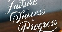 "OMG �€"" here are the best quotations we found this week for you. Failure is success in process, so keep up your training, practices and things and go out to creat"