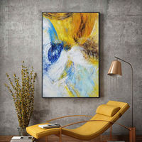 Framed painting Modern Abstract acrylic paintings on canvas art original pictures texture extra Large wall art cuadros abstractos $89.00