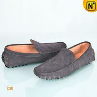 CWMALLS® Paris Suede Leather Driving Flats CW707118[Custom Made, Global Free Shipping]