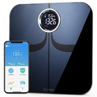 YUNMAI Premium Smart Scale Body Fat Scale bluetooth Body Composition Monitor & Analysisor with Extra Large Display