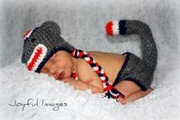 Crochet Sock Monkey Newborn outfit by CrazyCraftHeaven on Etsy