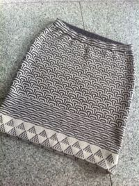 FO: Mosaic Knitting Skirt : ~ Izumi's Knitting Notes ~