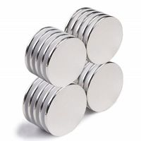 100 pcs Strong Disc Magnets Rare Earth Neodymium Magnets 20mm x 2mm $17.50