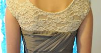 adding sleeves to sleeveless dress. :) I have about a bazillion dresses to do this to! Life changing. :)