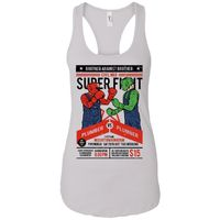 Brother Against Brother - Vintage Art - Women's Racerback Tank Top $9.97