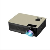 M5 LED Portable Projector 5.8 Inch LCD Projector 4500 Lumen 1280*800 Support 1080P TV Home Theater